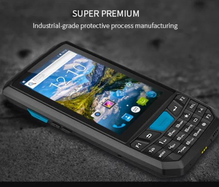 Lecom Handheld 3G 4G mobile industrial phone data collector logistic express warehouse delivery android barcode scanner pda фото