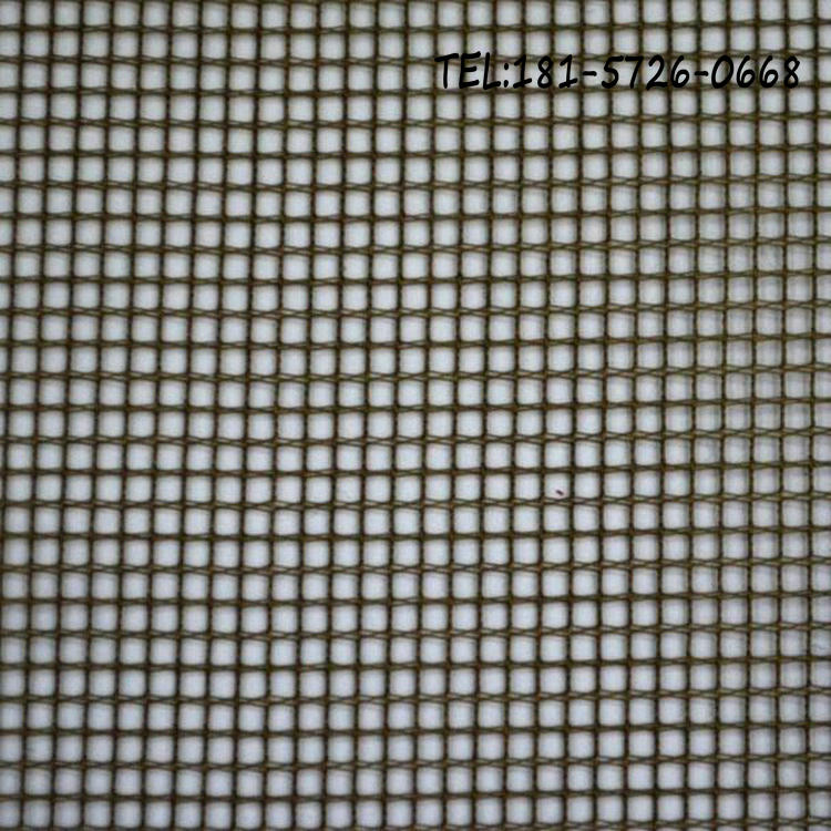 Industry tricot polyester square hole white 50D mesh fabric