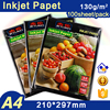 Jetland Matted Inkjet High Quality Glossy Photo Paper A4 130GSM 100 Sheets Per Pack Single side