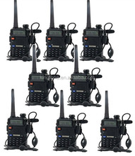 Baofeng UV-5R Walkie Talkie 5W Dual Band 128CH UHF VHF FM VOX Pofung UV5R Ham <span class=keywords><strong>Radio</strong></span> dual Display Free Headset