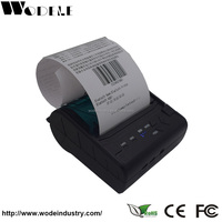 WD-80GN: China cheap hand held mini android parking ticket receipt bluetooth thermal paper printing machine manufacturer