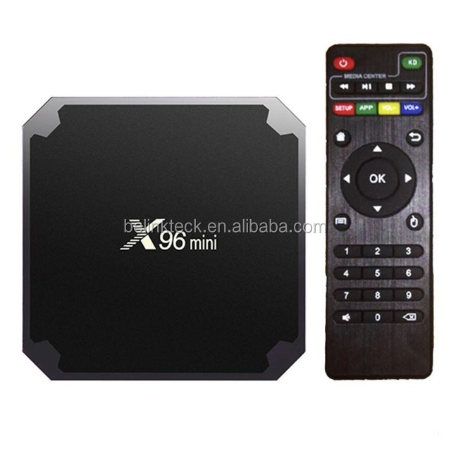 Originele X96 mini tv box fabriek Amlogic S905W android 7.1 os 1 gb ram 8 gb rom android tv set top box X96 mini