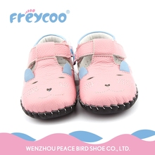 Cheap price cute soft sole sandals baby girl shoes