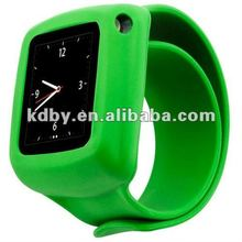 New Silicone Slap Wrap Wrist Watch