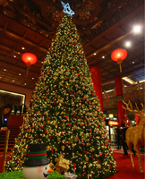 hot sell outdoor christmas decoration giant tree led christmas tree shopping mall