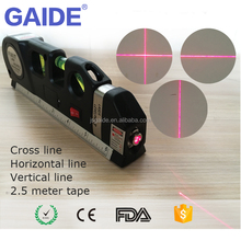 Flooring and decoration construction 2 red lines laser level tool kit