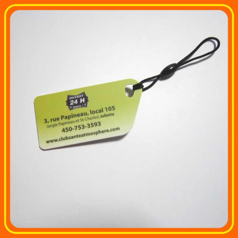 Waterproof custom ic rfid adheisve tag sticker coated pet/pvc/paper