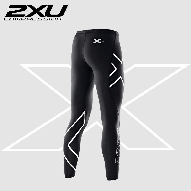 В наличии 2XU сжатия женщин колготки Patns 2015 бренд брюки высокой упругой пота подходит для внутреннего и спорт на открытом воздухе