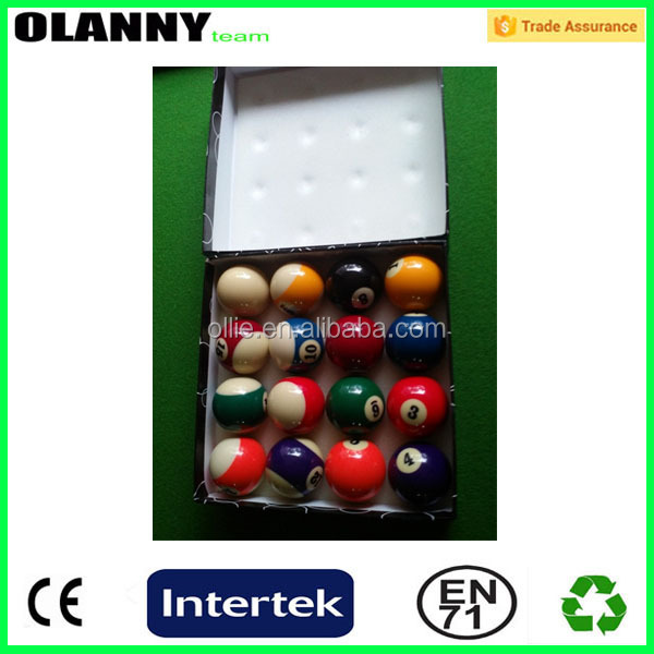 new design factory price decorative cheap billiard ball