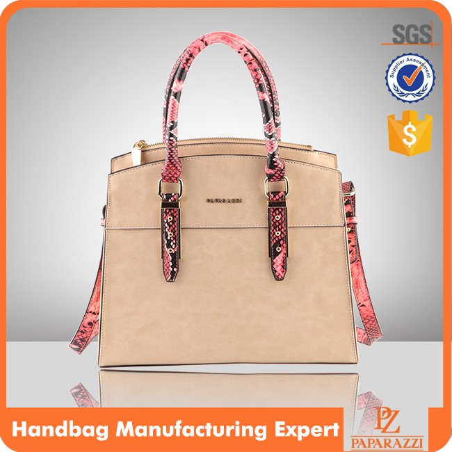 5127- 2017 hot selling ladies fashion genuine leather custom-made handbags