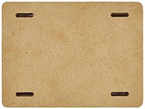 "Kaisercraft SB2405 Beyond The Page MDF Mini Album, 4"" x 3"" x .25"", Beige"