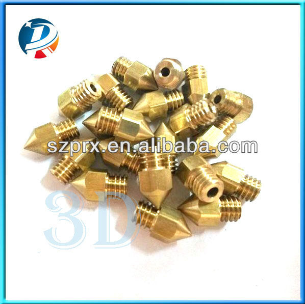 Primes good quality MK7 MK8 nozzle with 0.2mm,0.3mm and 0.4mm
