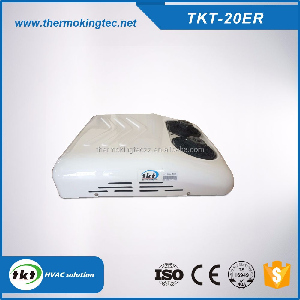 TKT-20ER electric cooling truck,DC powered truck sleeper air conditioner 2500w