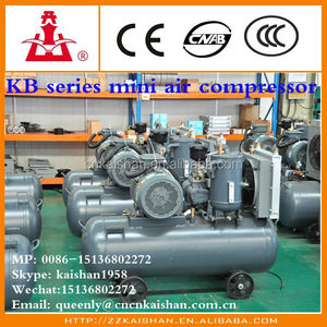 KB15 PET blowing process 350l air tank Air Compressor for sales Booster 350CFM 20HP