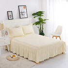 FACTORY poly micro custom made bed sheets thread count super king size bedding sets