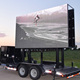 Outdoor truck mobile LED display trailer led screen advertising board HD full color high brightness 6500 nits P6 P8 P10