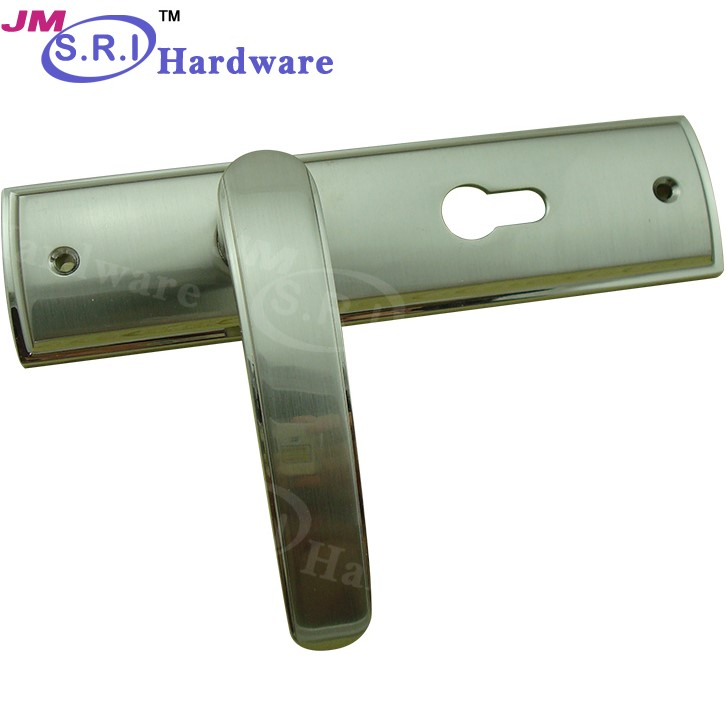 Zinc alloy material fancy door handles and locks decorative door handle