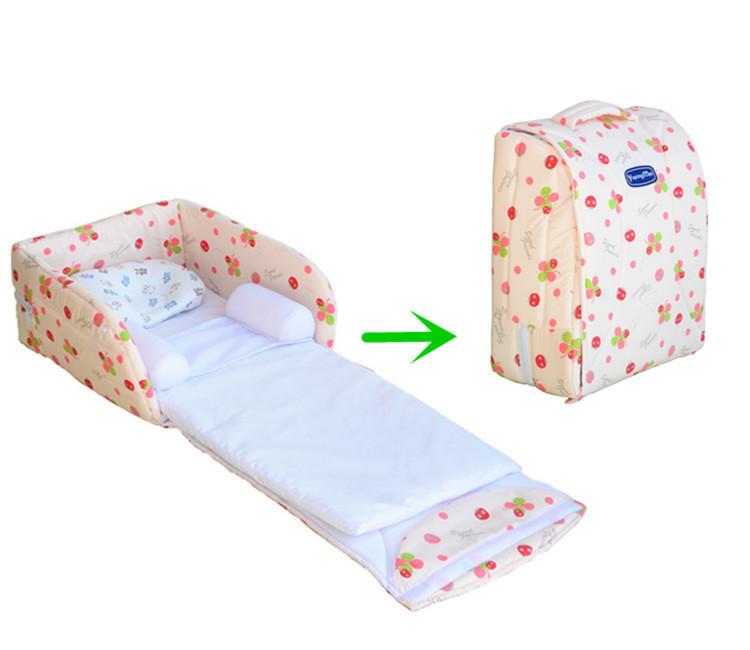 2015 nouveau n b b lit pliant la s curit infantile portable pliable berceau lit b b cr che. Black Bedroom Furniture Sets. Home Design Ideas