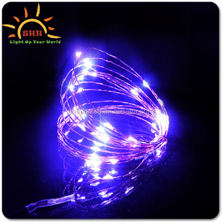 2M 20light butterfly shape the multi-strand enameled wire string lights