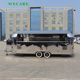 Big stainless steel mobile catering trailer coffee bike
