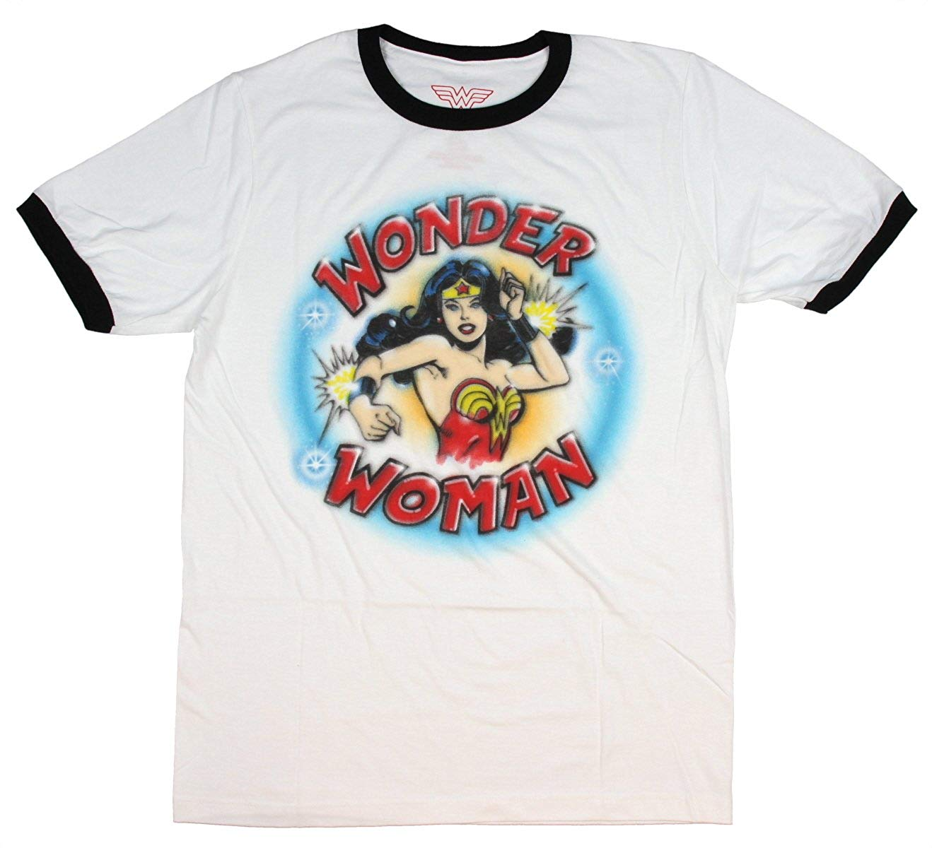 Wonder Woman This Girl PLAYS ROUGH Licensed T-Shirt All Sizes