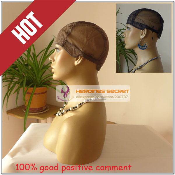 Wig caps for making wigs only stretch lace weaving cap adjustable straps back high quality guarantee free shipping