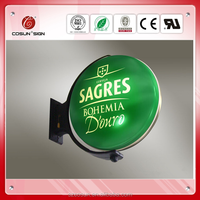 Outdoor customized signage arcylic Led vacuum forming light box