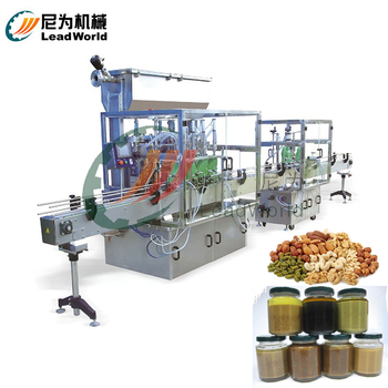 Green Tea Mung Bean Paste filling and packing machine