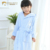 Wholesale Custom Comfortable Waffle Children Bathrobe Hooded