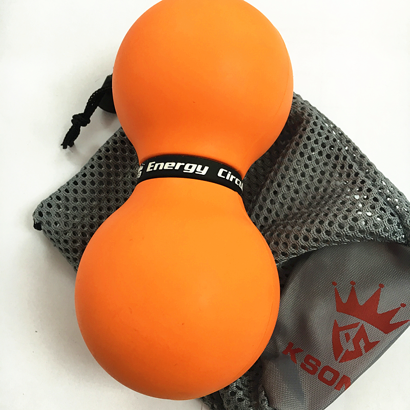 Doppelter Lacrosse-Massage-Ball-Therapie-Punkt-Erdnuss-Massage-Ball Muskelentspannerball