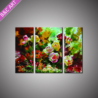 Wall Drawing Paint Wholesale High Quality Canvas Photo Printing Chinese Classical Peony Painting