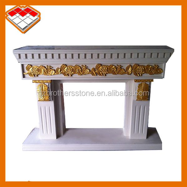 indoor corner artificial beige ethanol fireplace china