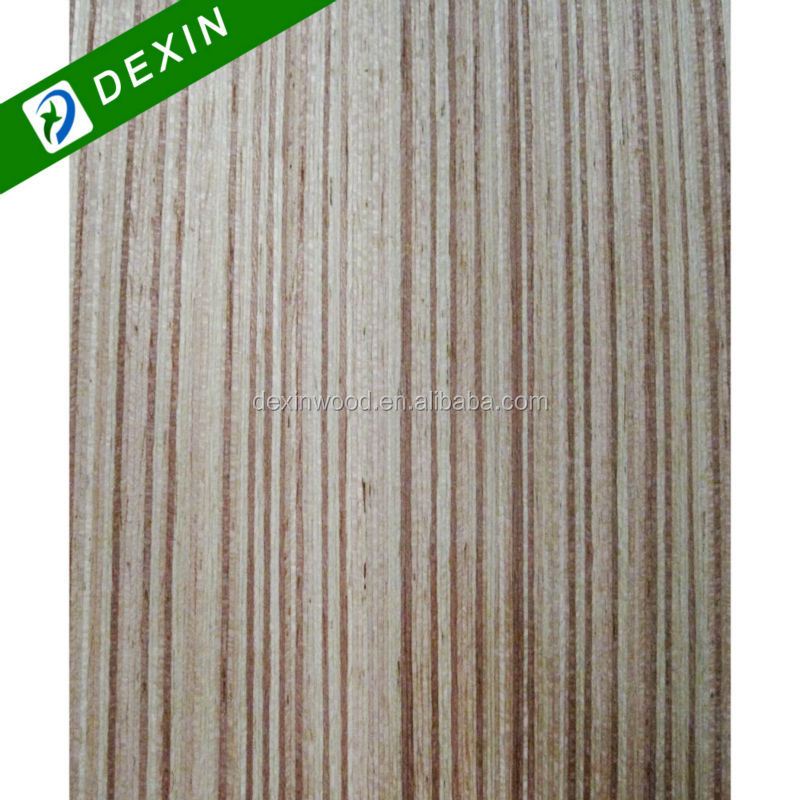 4x8 Engineered Teak E2 Glue Veneer Fancy Plywood Sheet