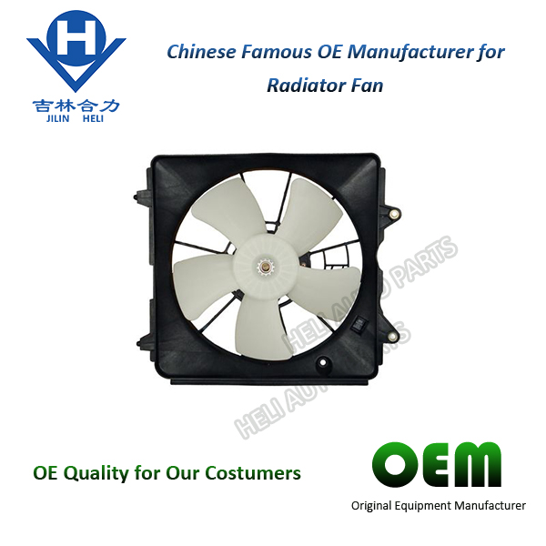 CHINA HIGH PERFORMANCE SPARE PARTS 19015-RZA-A02 12V DC MOTOTR RADIATOR COOLING FAN SPECIFICATION FOR HONDA CIVIC USA
