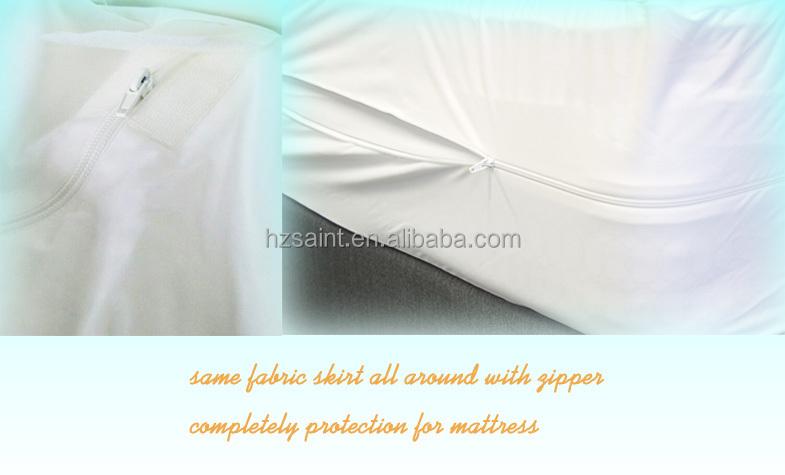 Fully Encased Mattress Protector Waterproof Layer Mattress