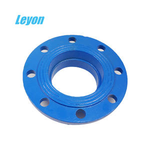 double flanged pipe fittings flange spigot pipe fittings ductile iron puddle flange