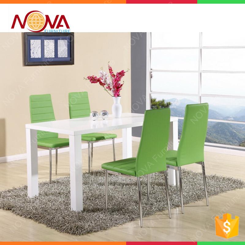Eetkamer hoogglans wit actie complete hoogglans witte woonkamer inboedel eos nieuw te - Moderne eetkamer set ...
