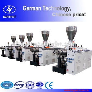 Counter Rotating Low Energy Consumption Window Profile Conical Twin Screw EXtruder