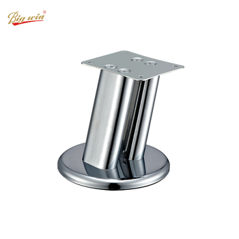 Factory Wholesale chrome coffee table legs stainless steel metal sofa legs