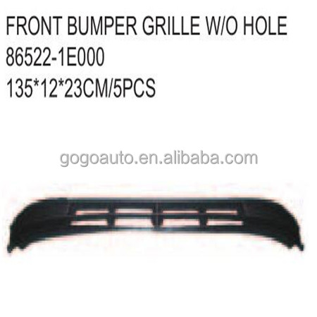 FRONT BUMPER GRILLE for HYUNDAI ACCENT '06-'10 OEM 86522-1E000