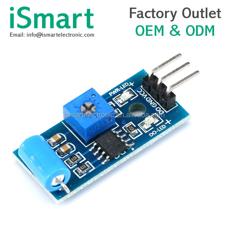 Vibration sensor module Normally closed type alarm module vibration induction switch SW-420