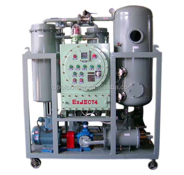Series TY-Ex explosion proof steam turbine oil treatment machine