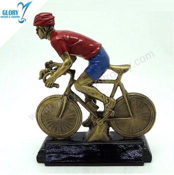 the colorful resin bicycle race for sport for competition