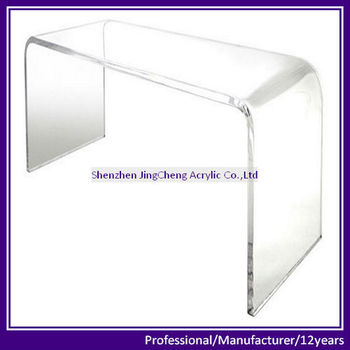 Square Clear Acrylic Coffee Table, Rectangle Clear Acrylic Table Part 85