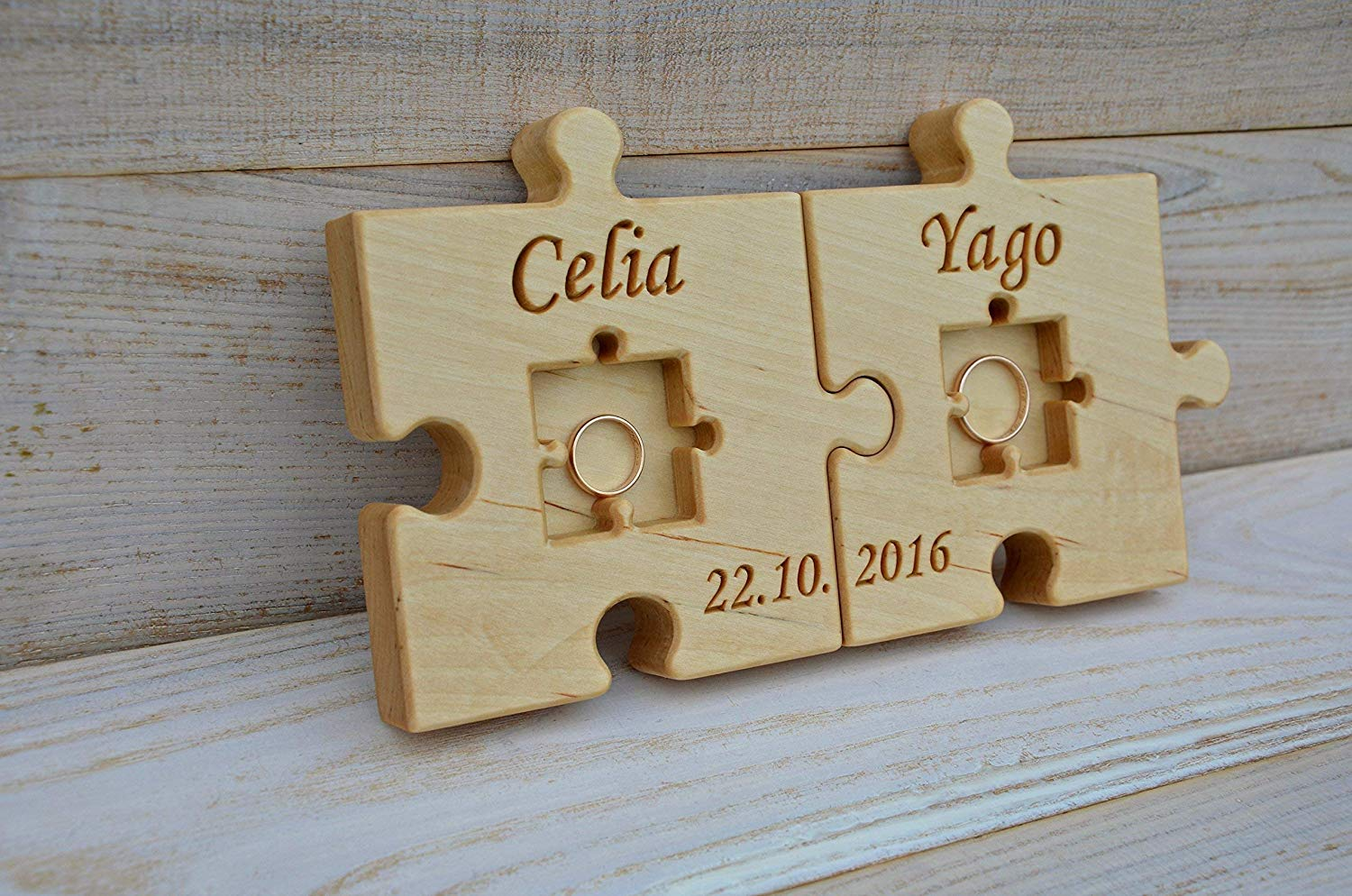 P1186 Personalized Ring Bearer Puzzle Puzzle Proposal Asking Ring Bearer Wedding Announcement