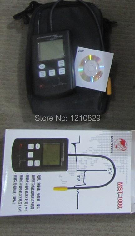 Сумасшедший продажа : жк дисплей катушки зажигания тестер MST 1000 автомобильный мотор зажигания инструмент сигнал MST-1000 -- цена от производителя