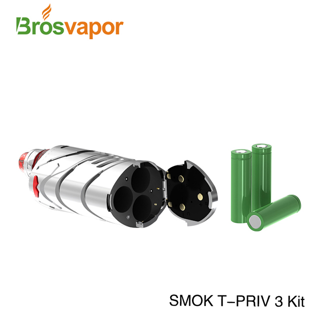 2018 Trending Products Vapor Starter Kits 300W SMOK T-PRIV 3 Kit With TFV12 Prince Tank