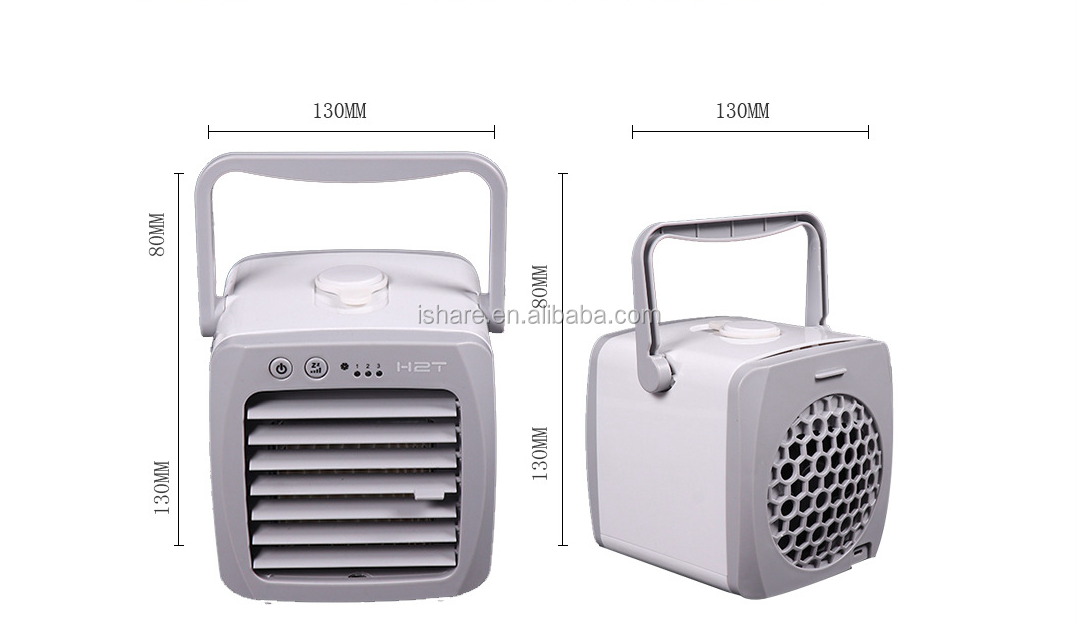 portable handheld arctic cooler mini portable air condition cooler mini fan for living room  office