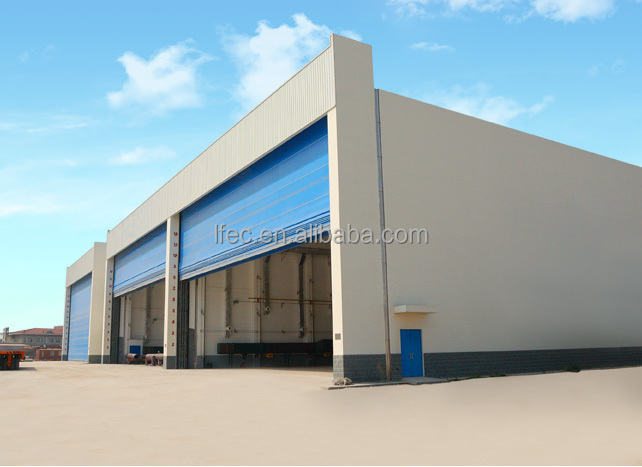 2017 ISO Certificate Prefab Aircraft Hangar Made In China