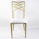 gold banquet wedding party chameleon event chair